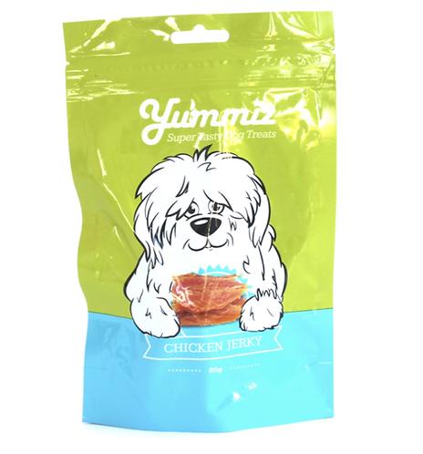 חטיף יאמיז לכלב חזה עוף מיובש 80 גרם
