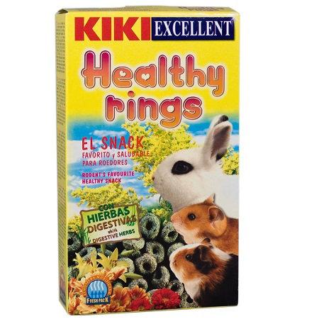 קיקי חטיף טבעת בריאות למכרסמים 250 גרם KIKI excellent healthy rings