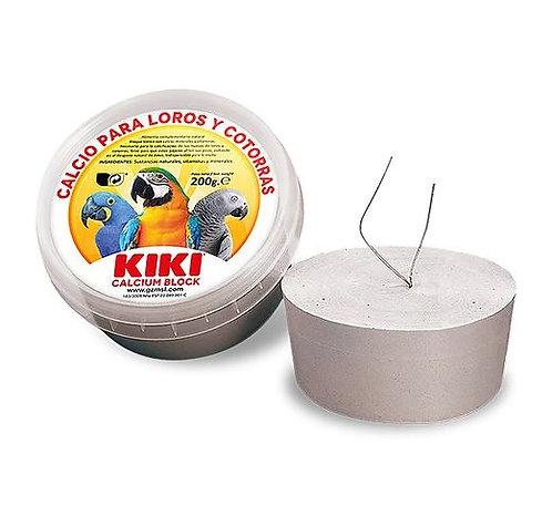 קיקי בלוק קלציום גדול לתוכי- יחידה 200 גרם Kiki Large Calcium Block
