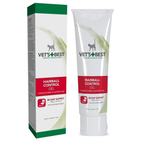 Vet's Best Cat Hairball Relief Digestive Aid gel- 100g היירבול לחתול ווטס בסט