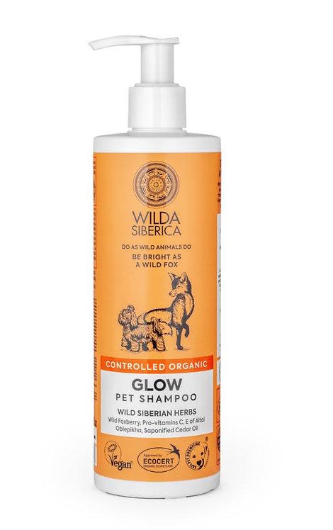 שמפו ומרכך ווילדה לכלב ולחתול WILDA SIBERICA Glow Shampoo