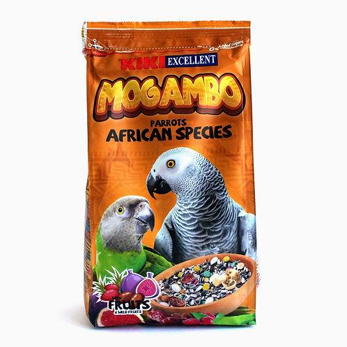 קיקי מזון לתוכים  אפריקאי (ג'אקו) 800 גרם kiki mogambo parrots african species