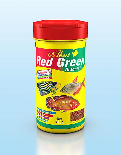 RED GREEN GRANULAT מזון לדגי נוי אדום ירוק