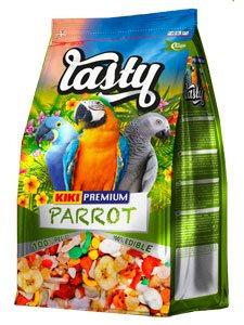 קיקי מזון פירות אקסטרה לתוכי גדול 1 קילו KIKI TASTY LOROS 1 Kg