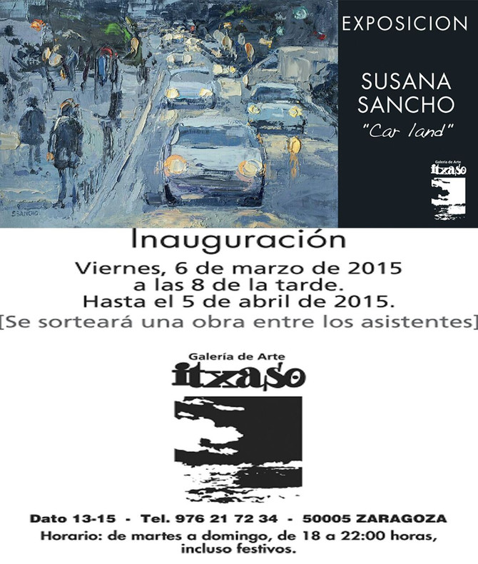 "EXPOSICIÓN - SUSANA SANCHO - ""CAR LAND"""