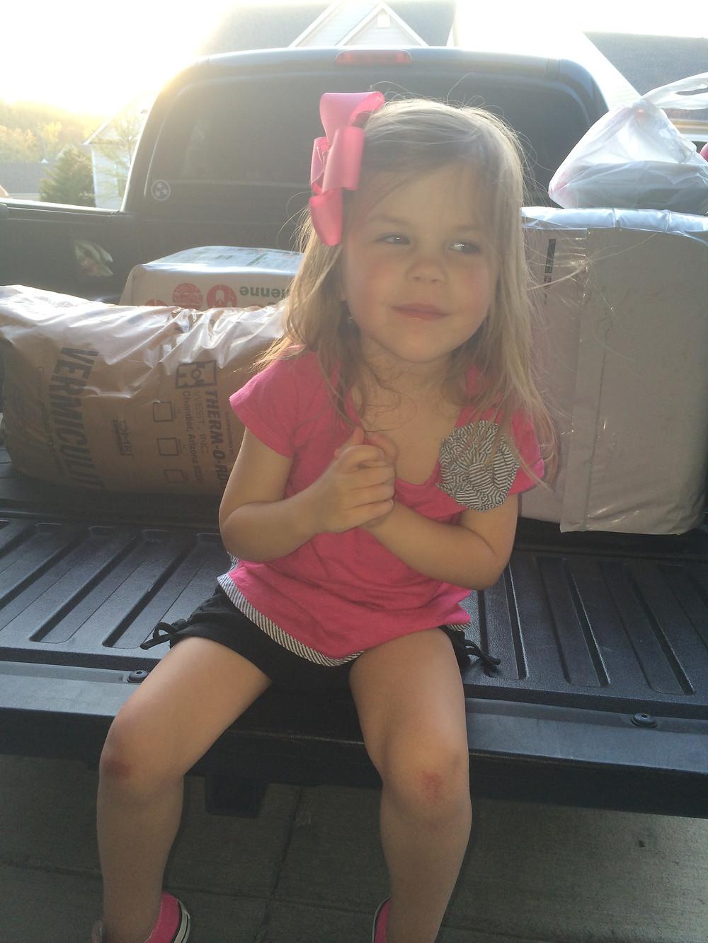 Blake on Truck