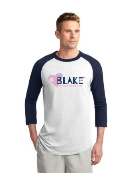 Team Blake Baseball Tee