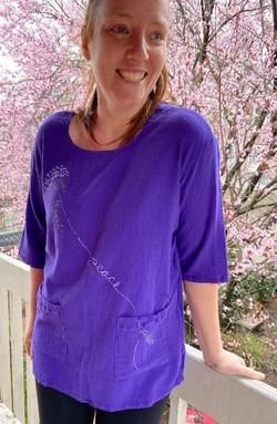 b purple