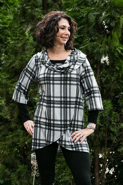 """Brushed Cotton """"Crossover"""" Tunic"""