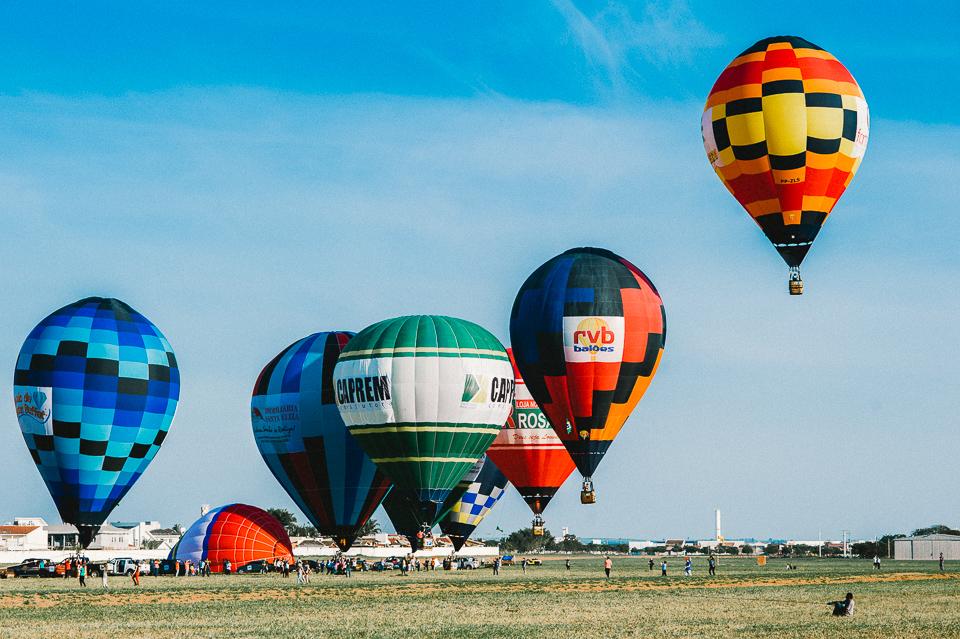 Balonismo decolagem