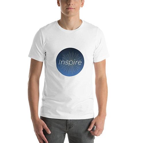 INSPIRE Short-Sleeve Unisex T-Shirt INSPIRE Logo