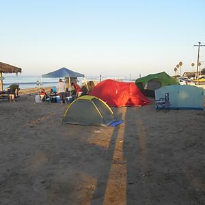 Beach Campout 2014
