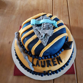 Harry Potter - Ravenclaw Cake