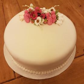 1 tier celebration cake