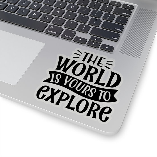 The World Is Yours To Explore Kiss-Cut Stickers