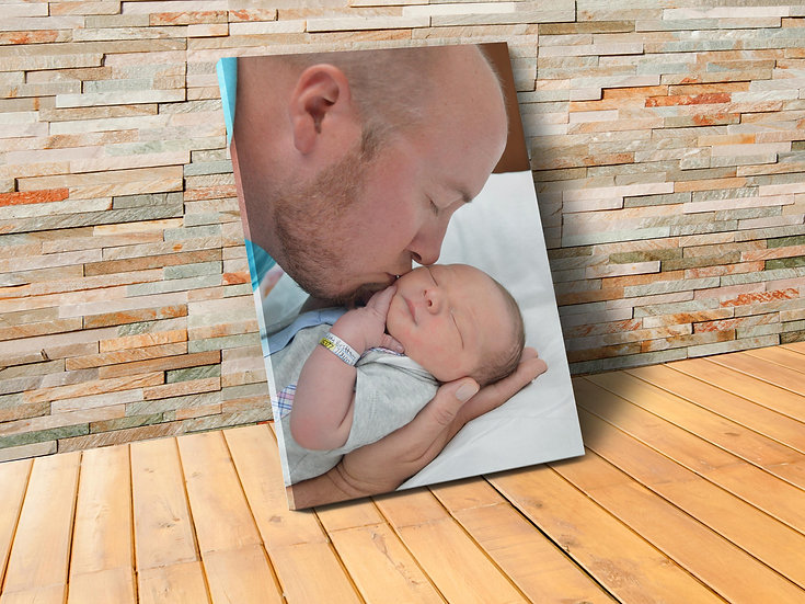 Personalized Gifts For Dad, Turn Your Photo To A Canvas Wrap