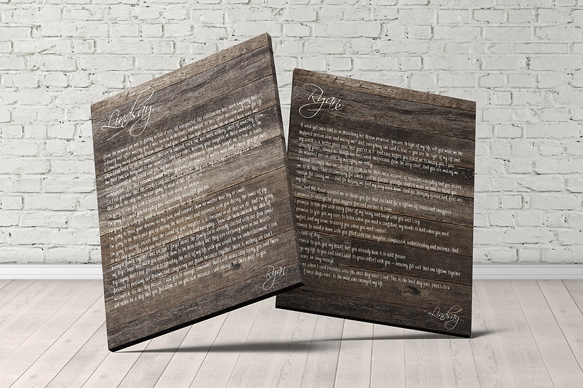 5th Anniversary Gift Ideas For Couple, Rustic Style