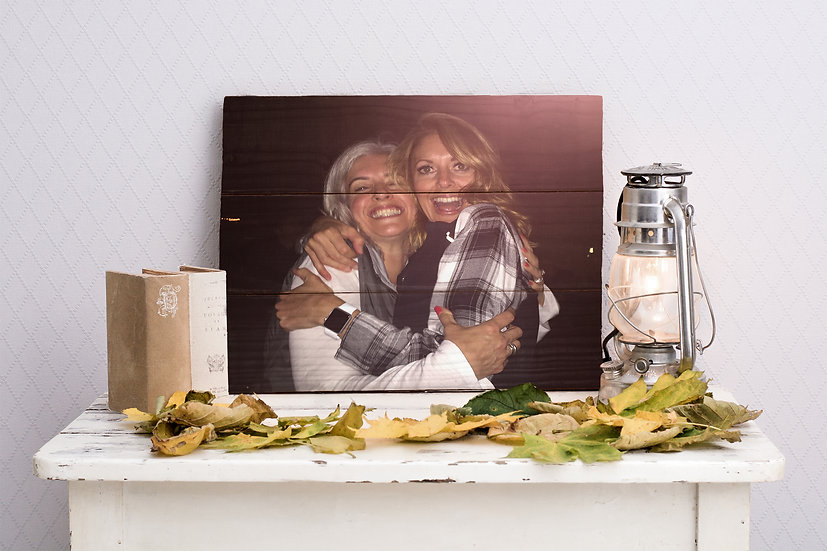 Personalized Gifts For Mom, Print Photo On Wood