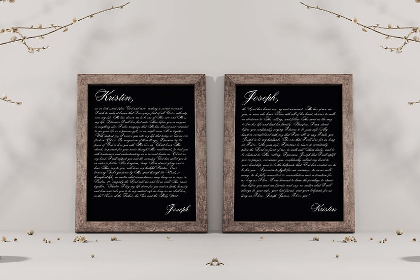 Framed Personalized Anniversary Gifts For Couples