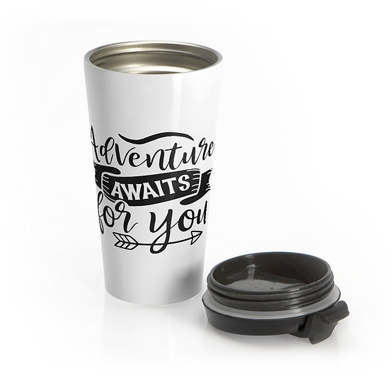 Adventure Awaits For You Stainless Steel Travel Mug