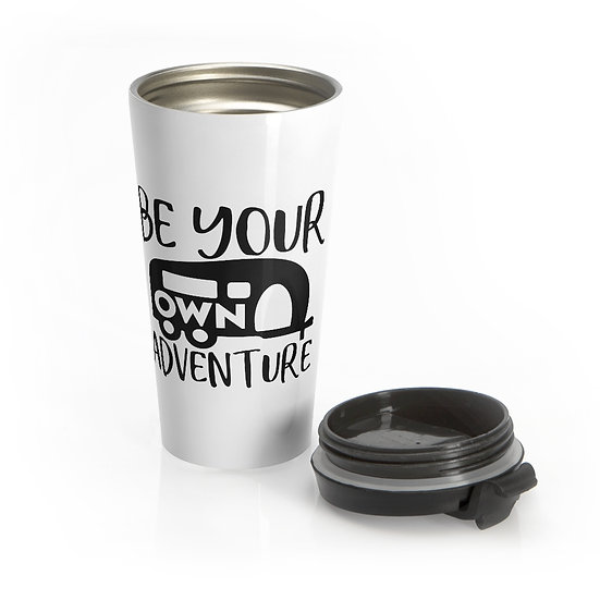 Be your Own Adventure Stainless Steel Travel Mug