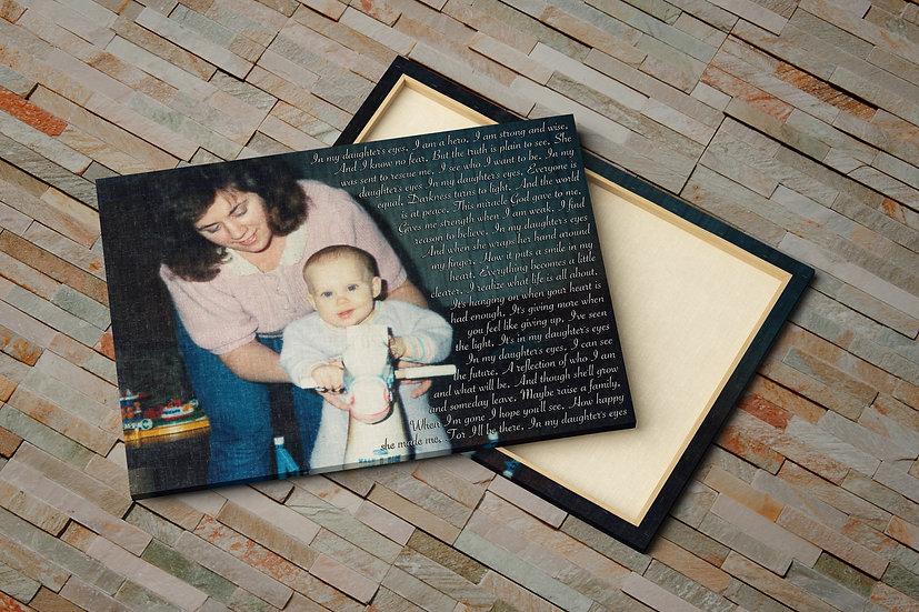 Mother's Day Gift Ideas, Your Photo and Words