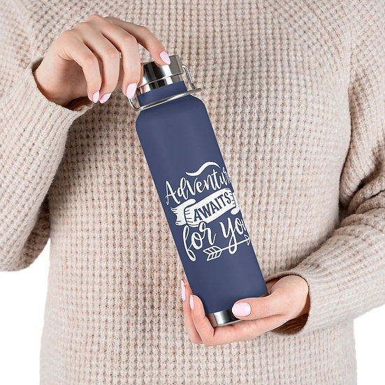Adventure Awaits For You Vacuum Insulated Bottle