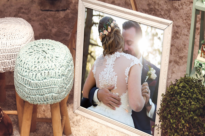 Personalized Framed Photo Print, Gifts For Him And Her