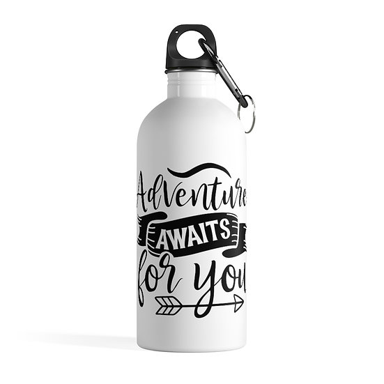 Adventure Awaits For You Stainless Steel Water Bottle