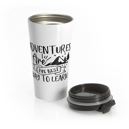 Adventures Best Way To Learn Stainless Steel Travel Mug