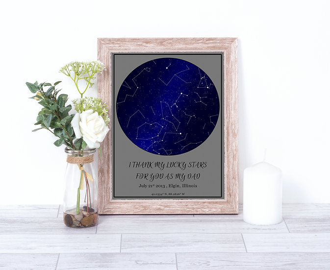 Star Constellation Maps, Personalized Gift For Any Occasion