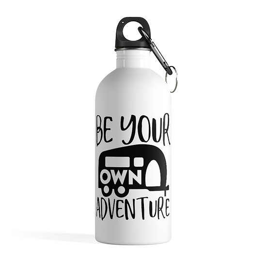 Be Your Own Adventure Stainless Steel Water Bottle
