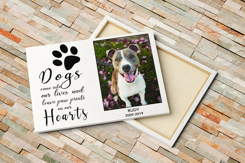 Gift Ideas For Someone Who Has Lost A Pet With Photo And Quote