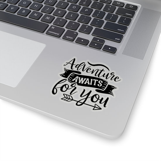 Adventure Awaits For You Kiss-Cut Stickers