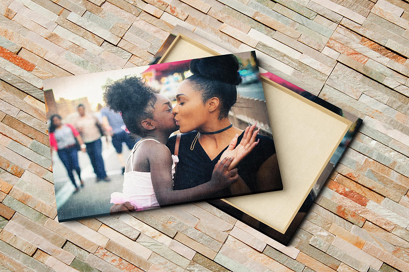 Personalized Birthday Gifts For Mom, Add Your Own Photo To Canvas