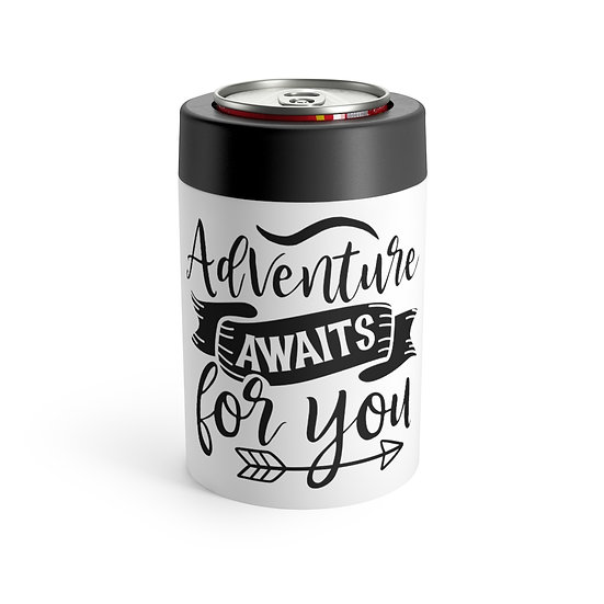 Adventure Awaits For You Stainless Steel Can Holder