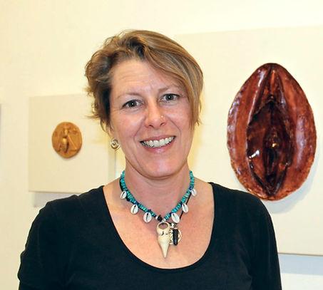 Wendy Bennett, menstrual artist and holder of sacred space.