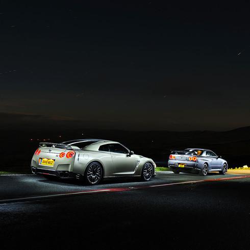 Nissan GTR 45th Anniversary  & Nissan R34 Skyline GTR - Nissan UK