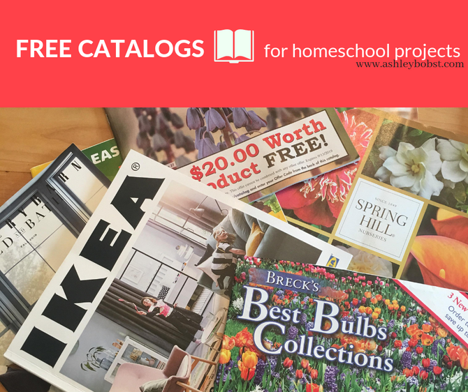 Free Catalog MUST HAVES for Homeschool Projects