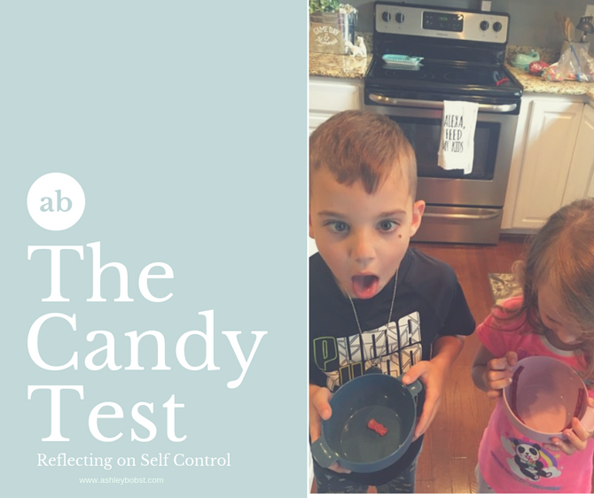 The Candy Test - Reflecting on Self Control