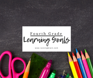 Fourth Grade Learning Goals