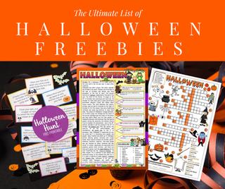 Fun Halloween Activity Freebies!