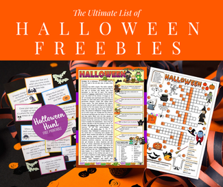 Fun Halloween Activity Freebies!
