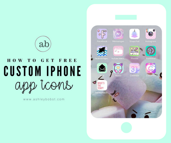 Custom Phone Icon Setup - CocoPPa