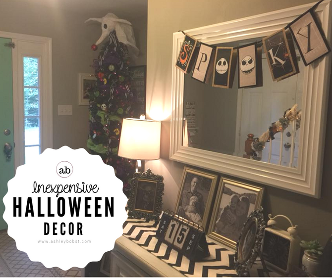 Inexpensive Halloween Decorations!