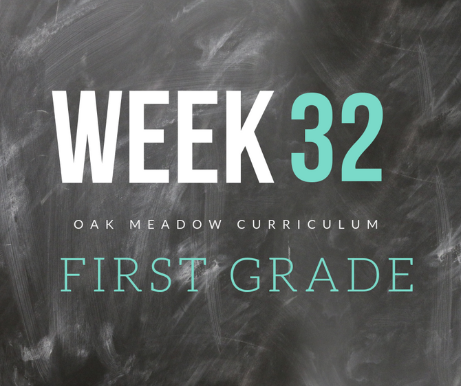 Homeschooling - 1st Grade Week 32 Oak Meadow Curriculum Supplements