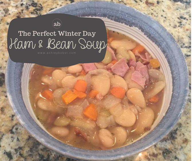 The Perfect Crock Pot Ham & Bean Soup