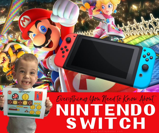 Everything you Need to Know about Nintendo Switch