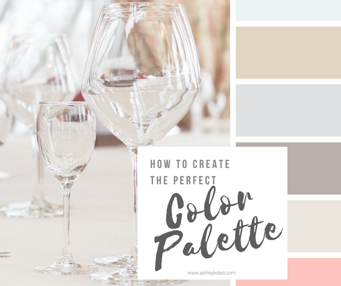 How to Create the Perfect Color Palette