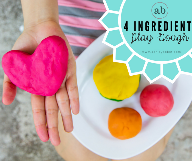 Easy DIY Play Dough & Science Lesson